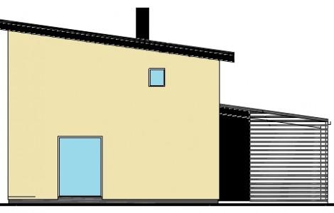 Dviejų aukštų su klasikiniu stogu