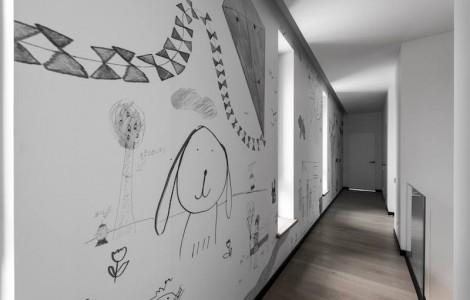 Skandinaviškas, modernus namas Vilniuje