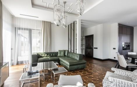 Modernios klasikos namas Vilniuje